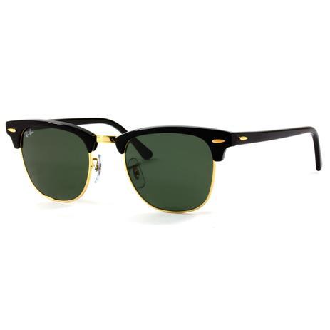 Óculos de Sol Ray-Ban Clubmaster RB3016L W0365 - Óculos de Sol ... b89fd667b5