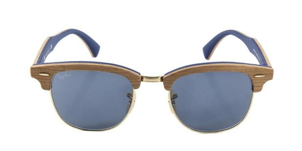 c2c8f7ca9ea43 ... discount code for Óculos de sol ray ban clubmaster wood rb3016 madeira  lente cinza ray ban