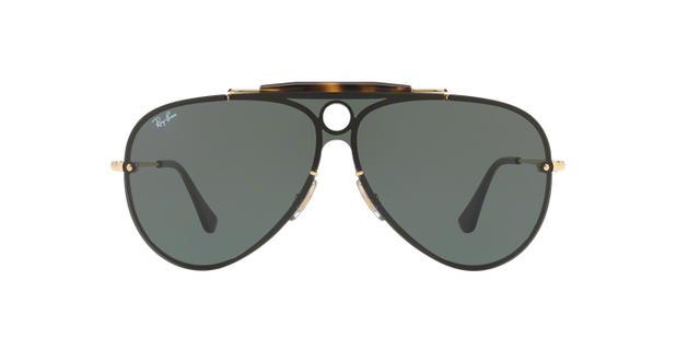 68b8e710847a6 Óculos de Sol Ray Ban Craft Caçador Arista RB3581N 00171 Ouro Lente Verde  G15 - Ray-ban