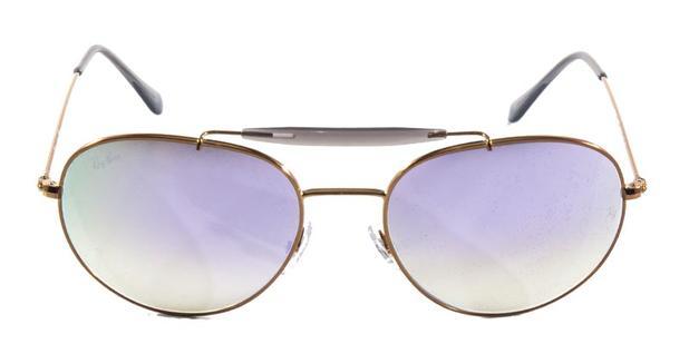 Óculos de Sol Ray Ban Craft Caçador Outdoorsman RB3540 Bronze Lente  Espelhada - Ray-ban 02fad17f19