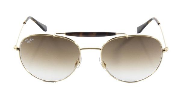 Óculos de Sol Ray Ban Craft Caçador Outdoorsman RB3540 Ouro - Ray ... ef7ca685e7