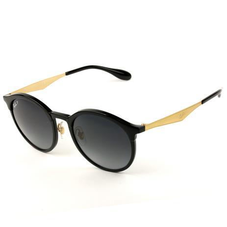 676547f5e Óculos de Sol Ray-Ban Emma RB4277 6306/T3 51 Polarizado - Óculos de ...