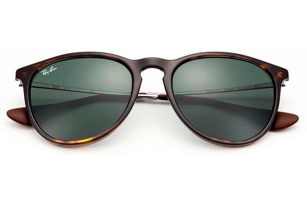 9ad3a83ad Óculos de Sol Ray Ban Erika L RB4171L 710 71/54 Tartaruga Brilhante ...