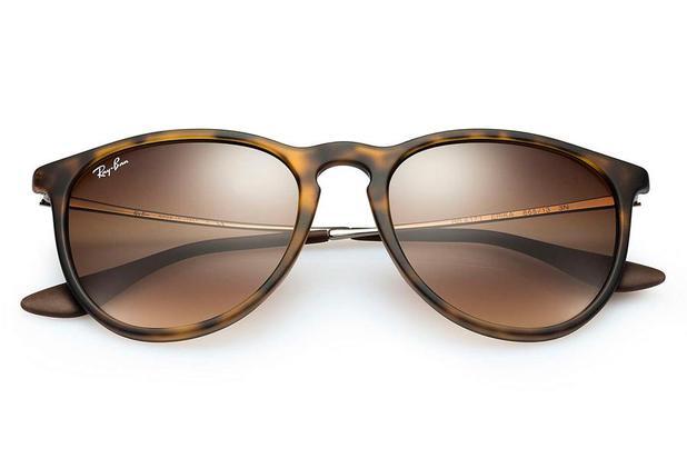 e62399bd1 Óculos de Sol Ray Ban Erika L RB4171L 865 13/54 Tartaruga Lente Marrom  Degrade