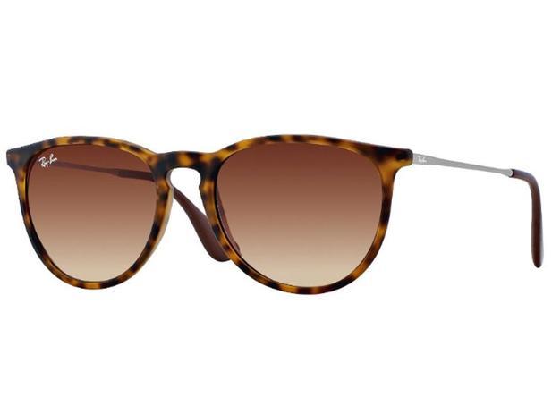 Óculos De Sol Ray Ban Erika RB4171 865 13 Tam.54 - Ray ban original ... f9b1b5bb30