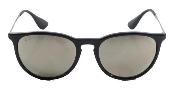 a5456a7f20854 Óculos de Sol Ray Ban Erika RB4171 Preto Lente Espelhada Ouro - Ray ...
