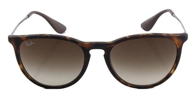 Óculos De Sol Ray Ban Erika Rb4171 Tartaruga Emborrachada Lente Marrom - Ray -ban 5ba30a1388