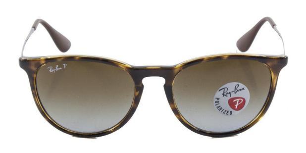 cedeb388b4e53 Óculos De Sol Ray Ban Erika RB4171 Tartaruga Lente Marrom Polarizada -  Ray-ban