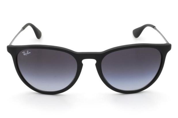 97a4f405c4d40 Óculos de Sol Ray Ban Erika RB4171L 622 8G 54 Preto Emborrachado ...