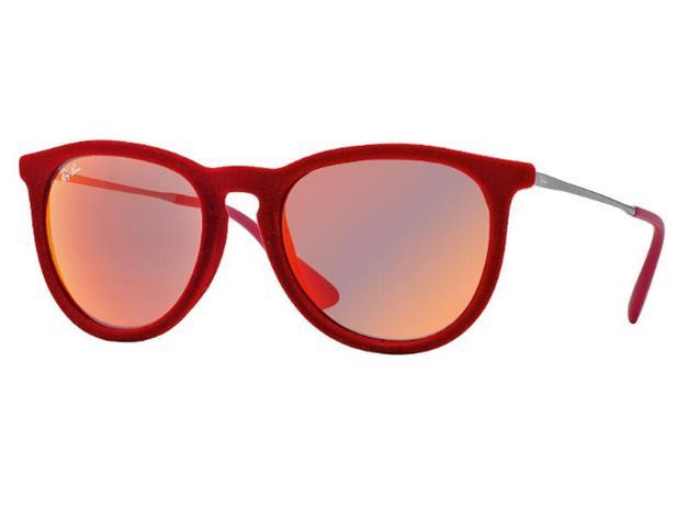 cb63ddada3b5b Óculos De Sol Ray Ban Erika Velvet Veludo RB4171 6076 6Q Tam.54 - Ray ban  original
