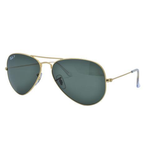 Óculos de Sol Ray Ban Feminino Aviador Polarizado RB3025L 001 58 - Metal  Dourado 3f347b43d744a