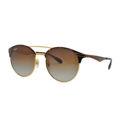 1510054ab Óculos de Sol Ray Ban Feminino RB3545 90081354 - Tartaruga Marrom e Lente  Marrom Degradê