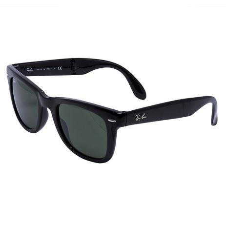 26ee8a903 Óculos de Sol Ray Ban Folding Wayfarer Black RB4105 - acetato preto, lente  G15