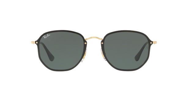 Óculos De Sol Ray Ban Hexagonal Blaze RB3579N Ouro Lentes Verde G15 - Ray- ban e252862870