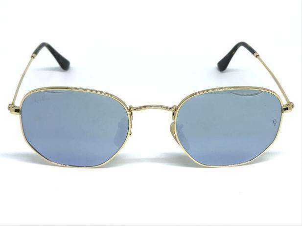 4f78f0197afda Óculos de Sol Ray Ban Hexagonal RB 3548N 001 30 51 - Óculos de Sol ...