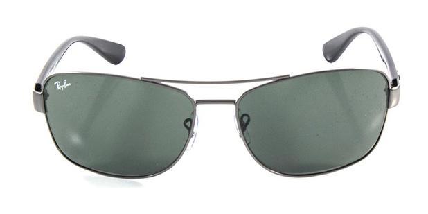 fa0ff3bd3d528 Óculos de Sol Ray Ban Highstreet Quadrado RB3518 Grafite - Ray-ban ...