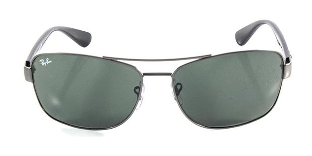 71b14a1f7cf8f Óculos de Sol Ray Ban Highstreet Quadrado RB3518 Grafite - Ray-ban ...