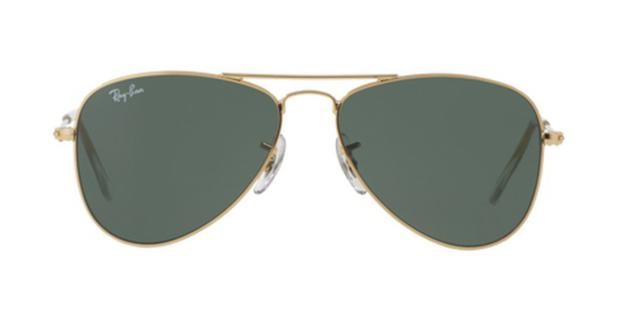 1777750884f06 Óculos de Sol Ray Ban Junior Aviador RJ9506 Ouro Lente Verde G15 - Ray-ban  junior