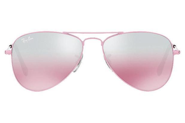 199e0b6e2 Óculos de Sol Ray Ban Junior Aviador RJ9506S 211/7E/50 Rosa ...