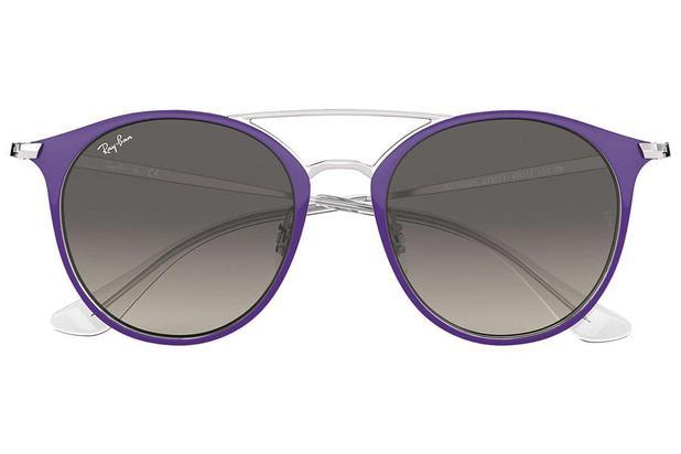 fe14d1cce Óculos de Sol Ray Ban Junior RJ9545S 272/11/47 Violeta/Prata | Menor ...