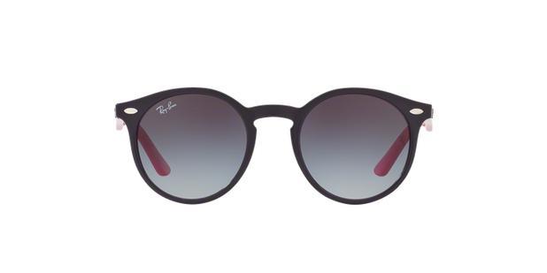 Óculos de Sol Ray Ban Junior Round RJ9064 Violeta Rosa - Ray-ban junior 961239487a