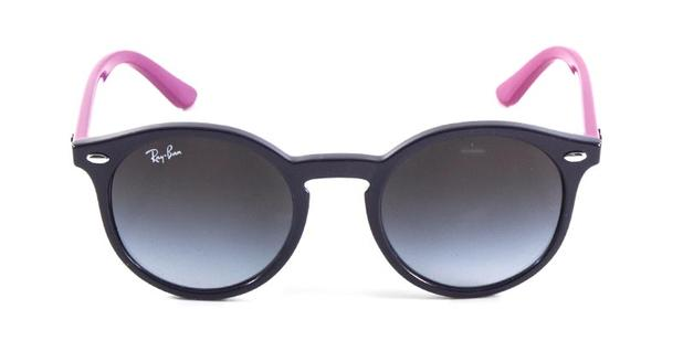 Óculos de Sol Ray Ban Junior Round RJ9064 Violeta Rosa - Ray-ban junior