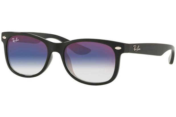 6edcd6b9e Óculos de Sol Ray Ban Junior Wayfarer RJ9052S 100/X0/48 Preto ...