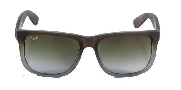 Óculos de Sol Ray Ban Justin RB4165 Marrom Cinza - Ray-ban - Óculos ... a11ddbe287