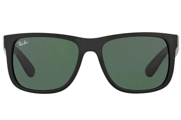651b20e06 Óculos de Sol Ray Ban Justin RB4165L 601/71/55 Preto Brilhante ...