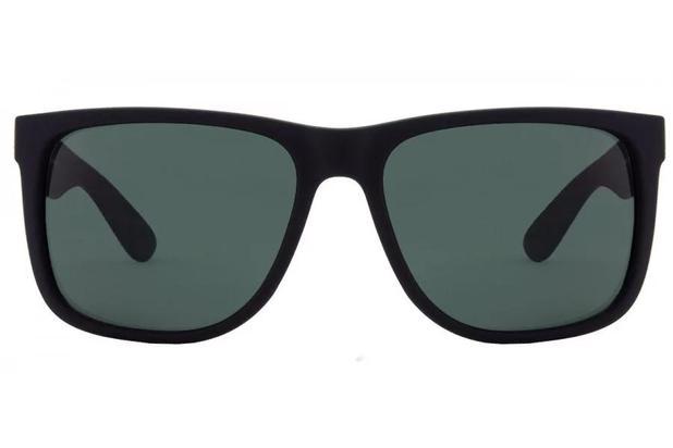 4a1aa8ed7686e Óculos de Sol Ray Ban Justin RB4165L 622 71 55 Preto Emborrachado ...