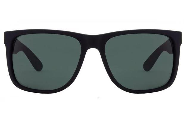 2f98b5b320780 Óculos de Sol Ray Ban Justin RB4165L 622 71 57 Preto Emborrachado ...
