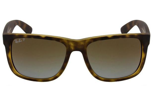 30843e0c9 Óculos de Sol Ray Ban Justin RB4165L 865 T5/55 Tartaruga Fosco ...