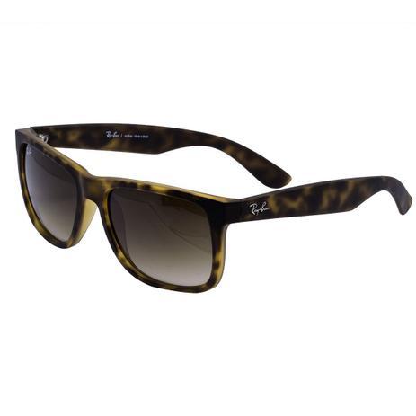 d0b766c3e Óculos de Sol Ray Ban Justin Rubber Matte Havana RB4165 710 13 - Acetato  Tartaruga