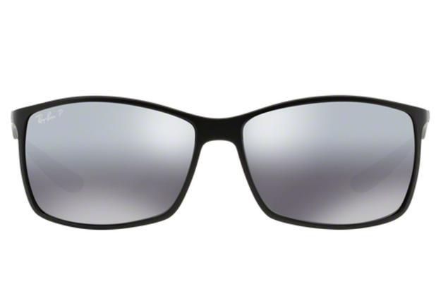 83ff53224dcf0 Óculos de Sol Ray Ban Liteforce RB4179 601S8262 Preto Fosco Lente Polarizada  Prata Espelhada Tam 62 - Ray-ban