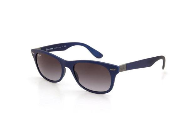 29b13c729 Óculos de Sol Ray Ban Masculino Lente Policarbonato Azul - Ray-ban ...
