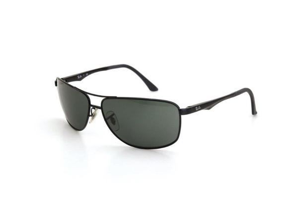 ce4e88433 Óculos de Sol Ray Ban Masculino Metal Proteção UV Preto - Ray-ban ...