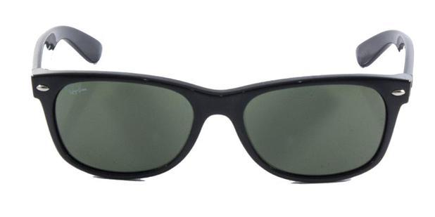 60e2bb725282f Óculos De Sol Ray Ban New Wayfarer Rb2132 Preto Lente 55 - Ray-ban ...