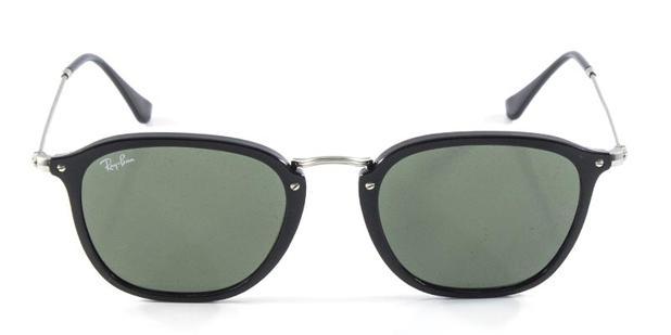 408c0c52afd15 Óculos de Sol Ray Ban RB2448 Flat Cinza Lentes Azul Flash Degradê - Ray-ban
