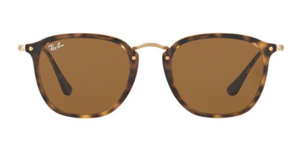 f4e15d14a1976 Óculos de Sol Ray Ban RB2448 Flat Tartaruga Lentes Marrom - Ray-ban ...