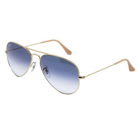 4b44f7e150035 Óculos de Sol Ray Ban RB3025L - Metal dourado
