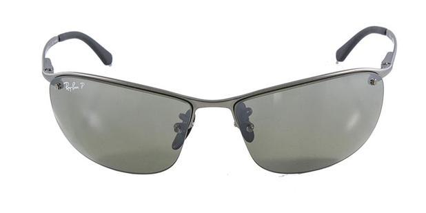 7462eee2d771e Óculos de Sol Ray Ban RB3542 Grafite Fosco Lente Polarizada Espelhada  Chromance - Ray-ban