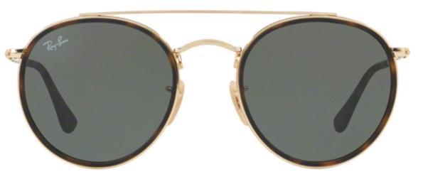 8477399c0133e ... Lente Polarizada  buy good 6d40b 7aa76 Imagem de Óculos de Sol Ray Ban  RB3647N Ouro ...