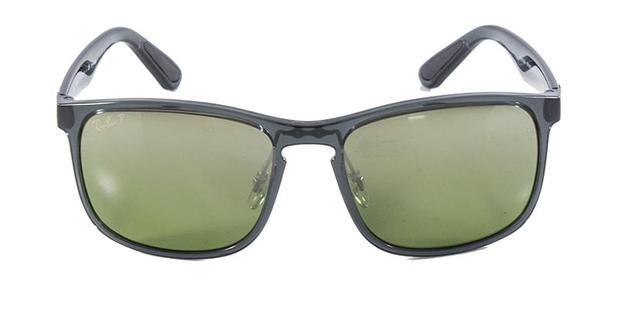 966ee9862c6c5 Óculos de Sol Ray Ban RB4264 Cinza Lente Espelhada Polarizada Chromance -  Ray-ban