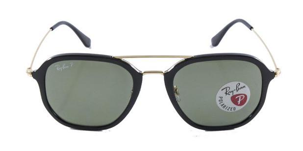 ae901b0d7d1bf Óculos de Sol Ray Ban RB4273 Preto Lentes Polarizadas G15 - Ray-ban