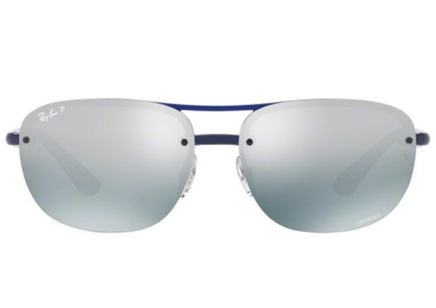 2160013cd Óculos de Sol Ray Ban RB4275CH 6295 Azul Lente Polarizada Chromance Azul  Degradê Tam 63 - Ray-ban