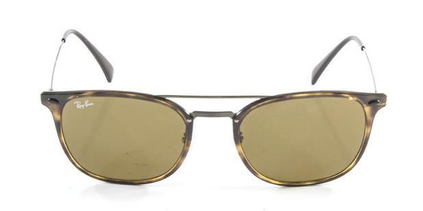 8a21cac0cf8b5 Óculos de Sol Ray Ban RB4286 Tartaruga Lente Marrom Haste de Titânio - Ray- ban