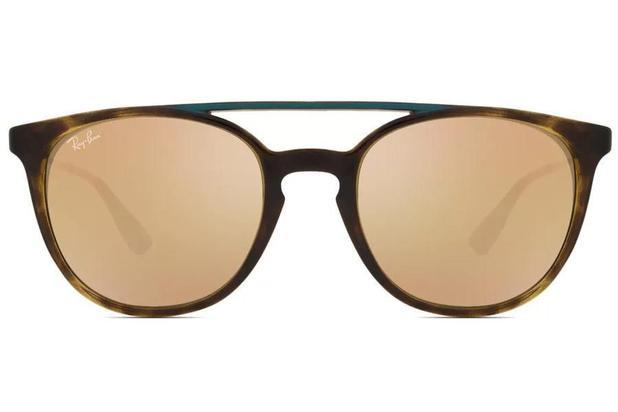 49c61a205 Óculos de Sol Ray Ban RB4289L 63212Y/53 Tartaruga/Turquesa ...