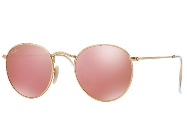 Óculos De Sol Ray Ban Redondo Round Metal RB3447 112 Z2 Tam.50 - Ray ban  original e24e506bd4