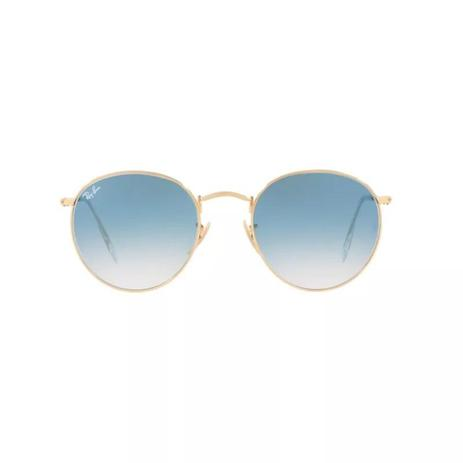 86a2954b5 Óculos de Sol Ray Ban Round Metal RB3447N 001 3F 53 - Óculos de Sol ...