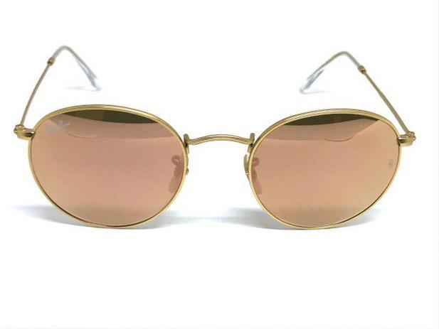 3371878a0 Oculos de sol Ray Ban Round RB 3447 112/Z2 50 - - - Magazine Luiza